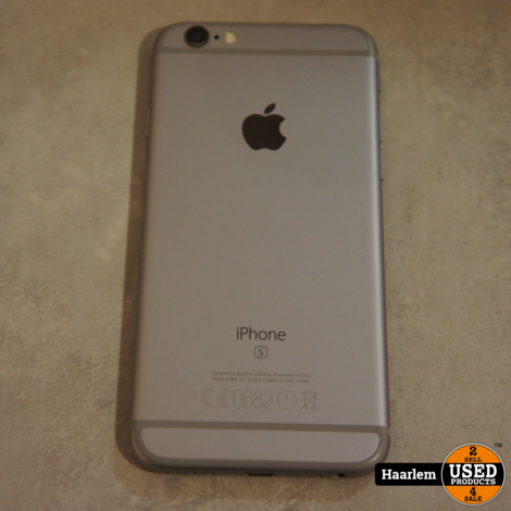 Iphone 6s 32gb in nette staat exclusief oplader