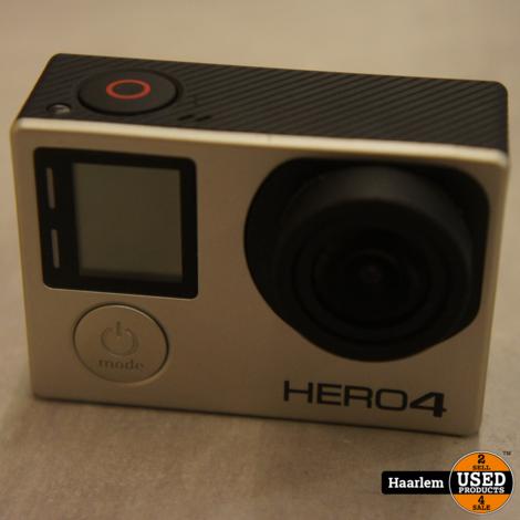 Gopro Hero 4 met schermpje in nette staat inclusief accessoires