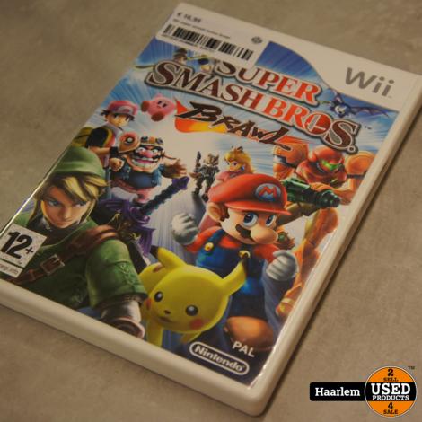 Wii super smash bros brawl wii game