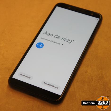 Samsung J6 16GB smartphone in prima staat exclusief oplader