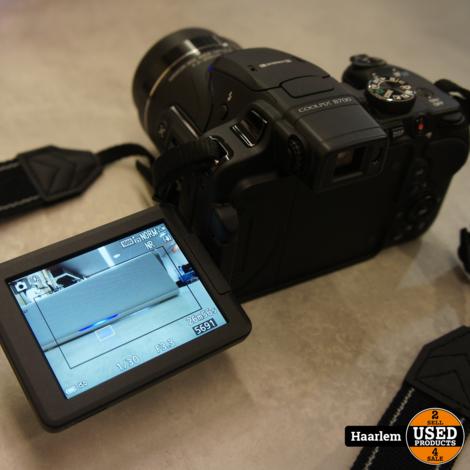 Nikon Coolpix B700 4k Camera met accessoires en tas
