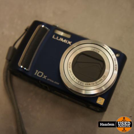 Panasonic Lumix DMC-TZ5 Zwart inclusief oplader en hoesje