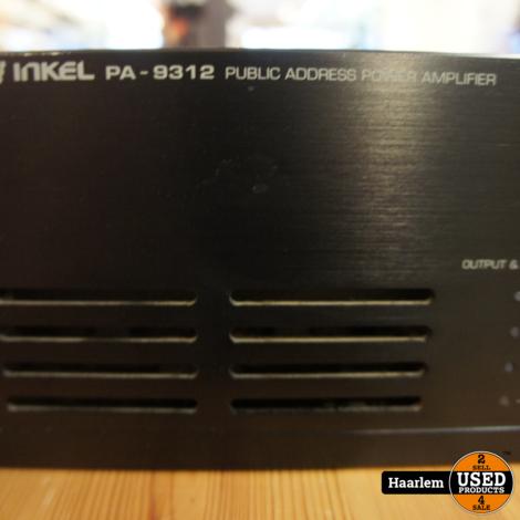 Inkel PA9312 22v 70v en 100V versterker