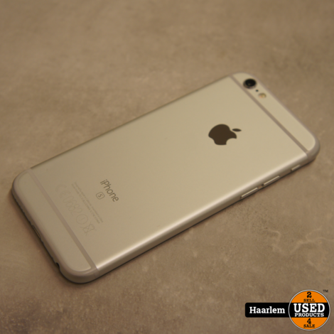 Apple iPhone 6S 16gb Silver in zeer nette staat met nieuwe accu!
