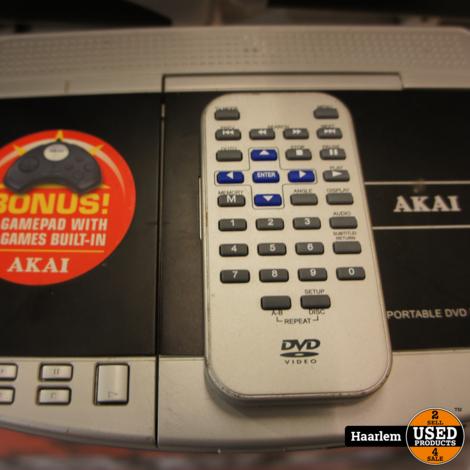 Akai ECV6607 Portable DVD-setje met 2 schermen voor in de auto