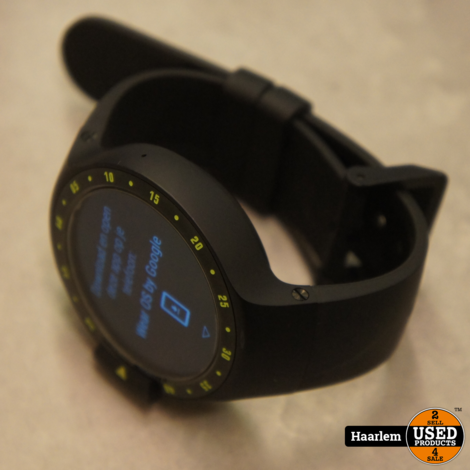Ticwatch S Smartwatch in doosje met oplader in nette staat