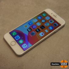 Iphone Apple iPhone 7 32Gb Silver in B-staat met 96 procent accu