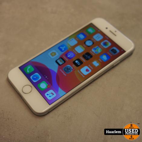 Apple iPhone 7 32Gb Silver in B-staat met 96 procent accu