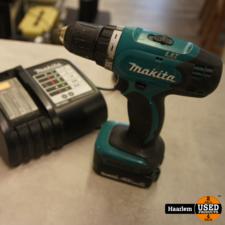 Makita Makita BDF343 14.4v boormachine met accu en oplader