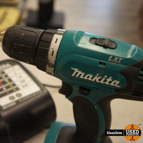 Makita BDF343 14.4v boormachine met accu en oplader
