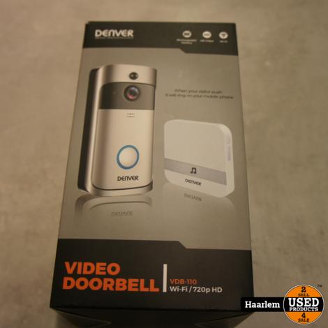 Denver VDB-110 Video deurbel nieuw in doos