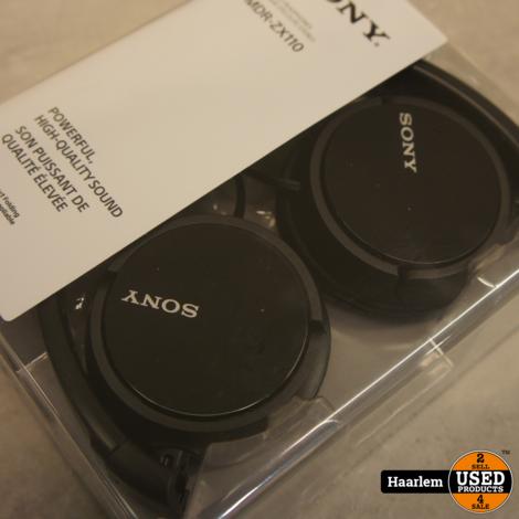 Sony mdr-zx110 koptelefoon nieuw in doos