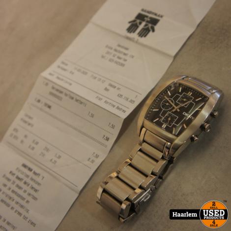 DKNY NY-1234 horloge in prima staat met nieuwe batterij