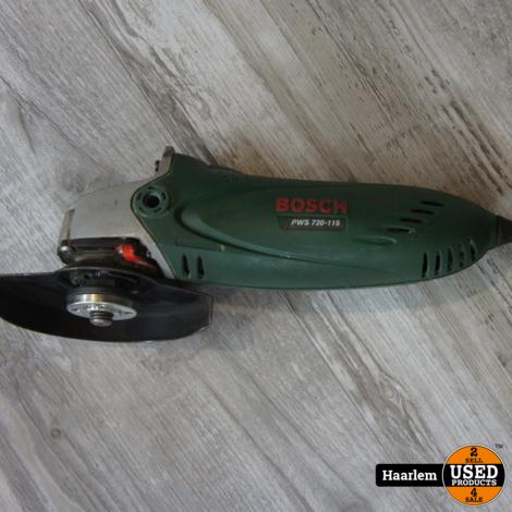 Bosch PWS 720-115 slijptol in prima staat