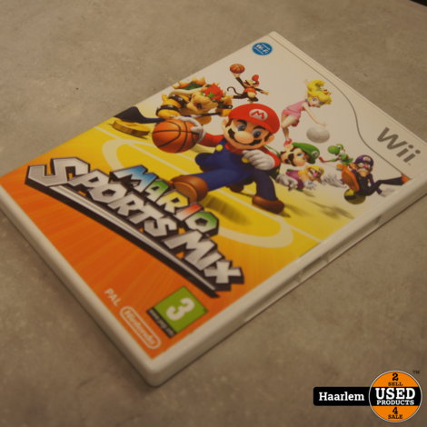 Mario Sports Mix Nintendo Wii game in nette staat