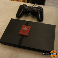 playstation playstation 2 slim met controller en 8Mb memory card