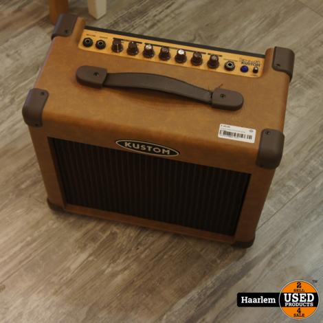Kustom model 16 acoustic guitar amplifier (handvat los)