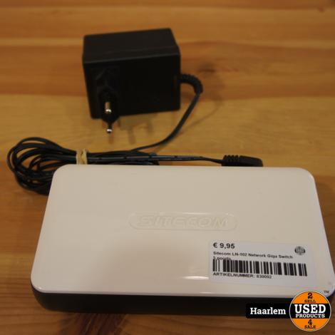 Sitecom LN-102 Network Giga Switch 5 poorts