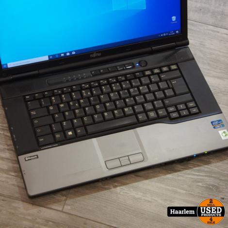 Fujitsu Lifebook Eserie i5 laptop   2.6Ghz - 4Gb - 500Gb -W10