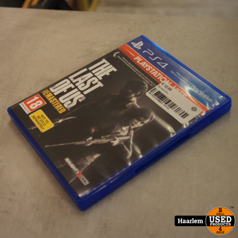 The Last of Us Playstation 4 game