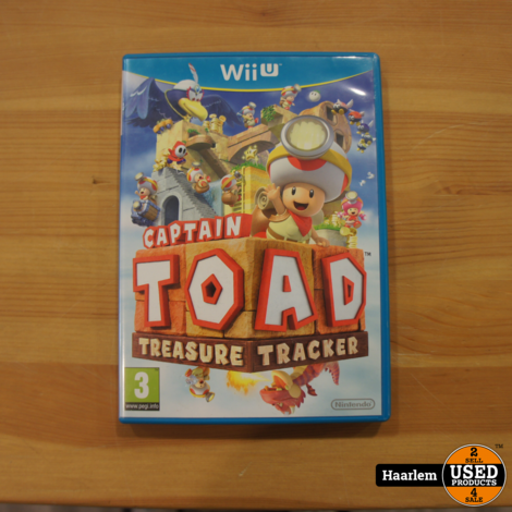 Captain toad wii u game