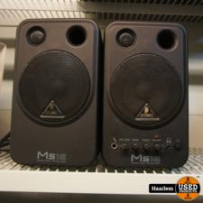 Behringer MS16 actieve monitor speakers - paar Behringer MS16 actieve monitor speakers - paar