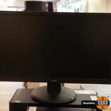 Iiyama E2283HS - B1 22 inch monitor met HDMi in nette staat Iiyama E2283HS - B1 22 inch monitor met HDMi in nette staat