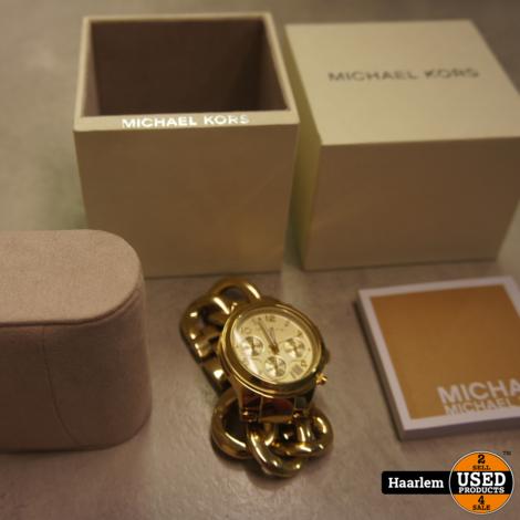 Michael Kors – MK3131 horloge zo goed als nieuw in doos