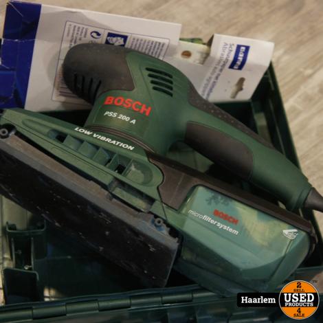 Bosch pss 200a schuurmachine in koffer in prima staat