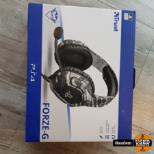 Trust GXT 488 Forze-G PS4 Gaming Headset PlayStation legerkleur in doos zgan Trust GXT 488 Forze-G PS4 Gaming Headset PlayStation legerkleur in doos zgan