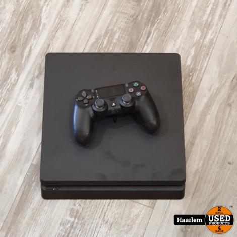 Playstation 4 slim 500GB inclusief accessoires