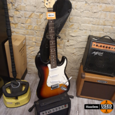 Rocktile Rocktile gitaar + versterker in prima staat