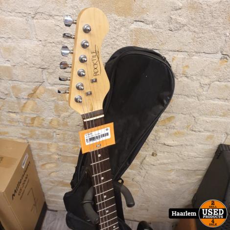Rocktile gitaar + versterker in prima staat