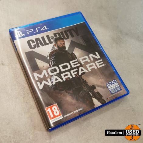 Modern warfare PS4 Game