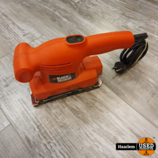 Black en decker schuurmachine - losse machine Black en decker schuurmachine - losse machine