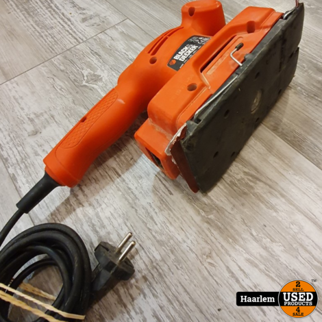 Black en decker schuurmachine - losse machine