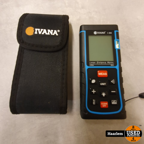 Ivana i-80 afstandsmeter in nette staat inclusief hoesje