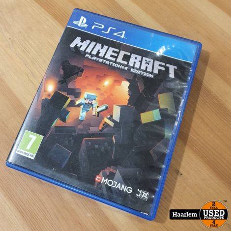 Minecraft playstation edition PS4 Game - Playstation 4 game