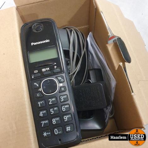 Panasonic KX-TG1612 dec telefoonset in doos