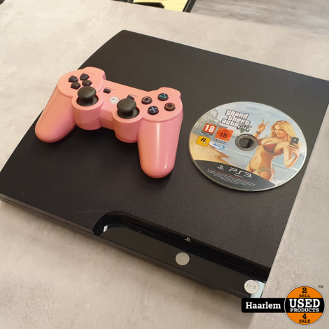Playstation 3 320gb + roze controller en GTA V