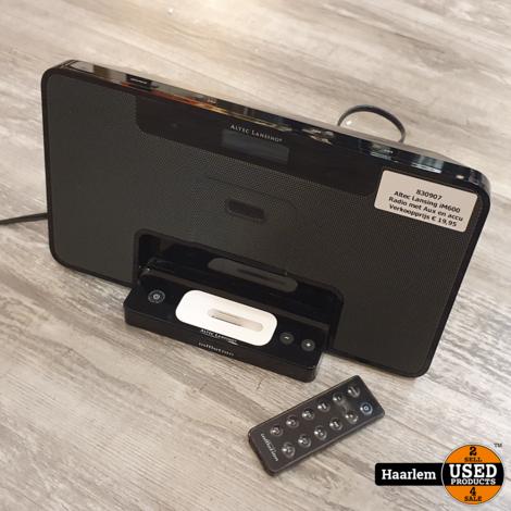Altec Lansing iM600 inMotion iPod Mobile Radio met Aux en accu