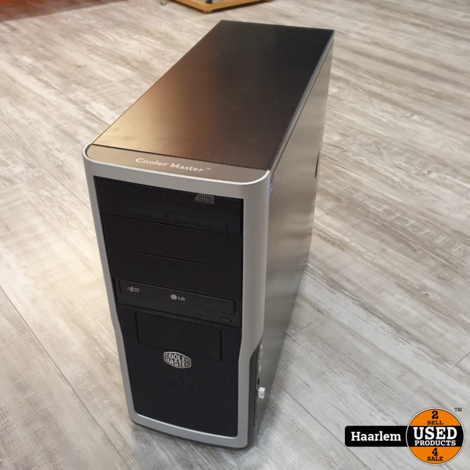 Coolermaster desktop I5 - 16GB Ram - 2.7 TB - W10
