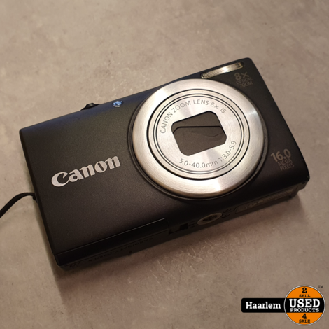 Canon A4050 IS 16Mp camera in nette staat in doos