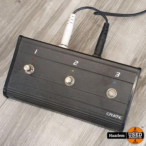 Crate FlexWave 65/112 gitaarversterker in nette staat inclusief pedaal