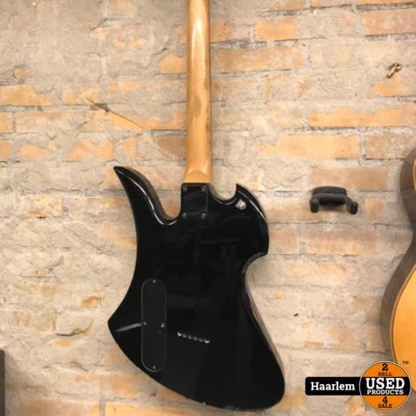 B.C. Rich Mockingbird Spiro-Light Body Art Collection gitaar in gebruikte maar mooie staat