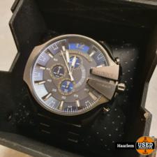 Diesel DZ4329 Horloge metal grey in doosje in prima staat Diesel DZ4329 Horloge metal grey in doosje in prima staat