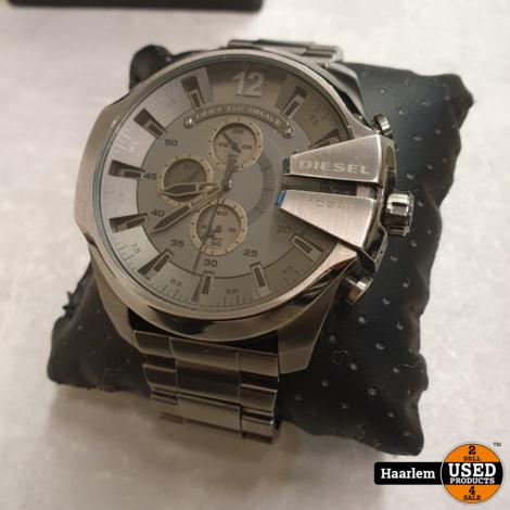 Diesel Horloge DZ-4282 kleur zilver in doosje in prima staat
