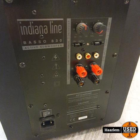 Indiana line basso 830 subwoofer