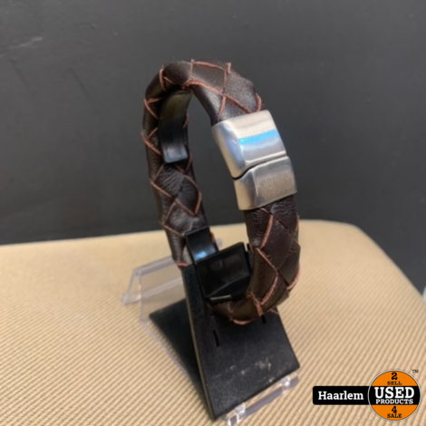 Senggi Barcelona Genuine leather Armband 21cm