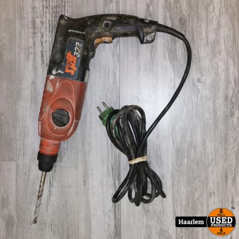 Spit 322 elektro-pneumatische boorhamer-SDS